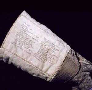 NASA Checklist on Spacesuit