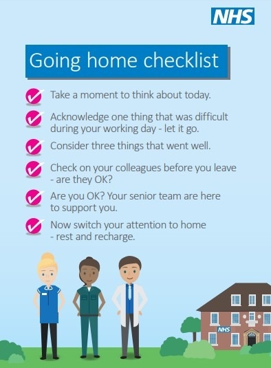 going home checklist Doncaster and Bassetlaw Teaching Hospitals NHS Foundation Trust