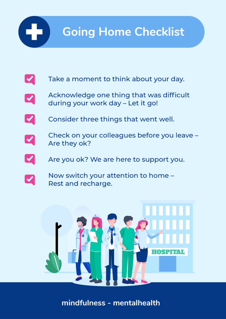 Image result for nhs end of shift checklist