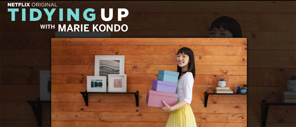 netflix tidying up with Marie Kondo