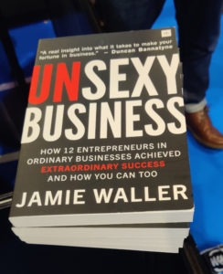 unsexy business book Jamie Waller