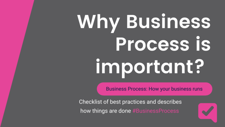 why business process is important